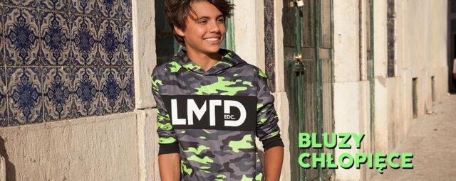 Nie tylko czarna dresówka. Bluzy dla chłopców