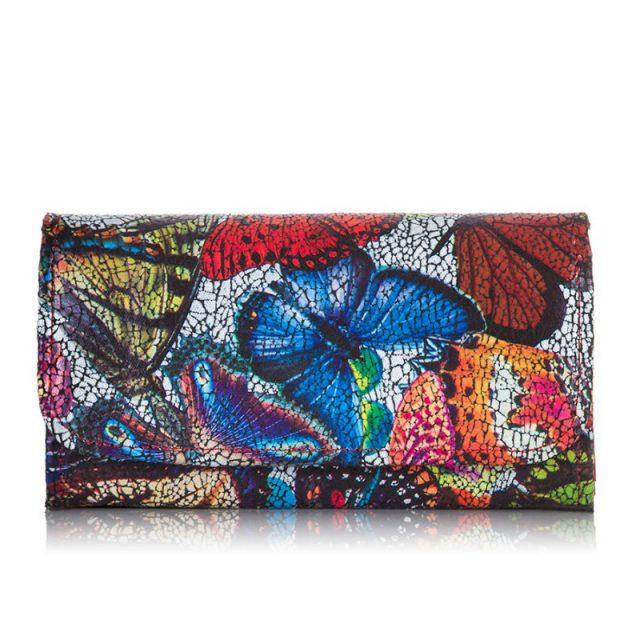 portfel w motyle